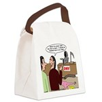 Death Works at the DMV Canvas Lunch Bag