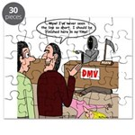 Death Works at the DMV Puzzle