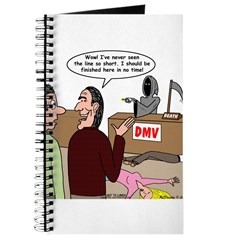 Death Works at the DMV Journal