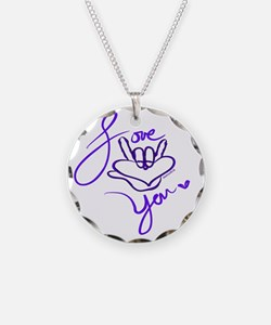 i_love_you_american_sign_lan Necklace