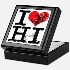 I Love HashIsh Keepsake Box