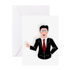 Businessman Greeting Cards