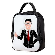 Businessman Neoprene Lunch Bag