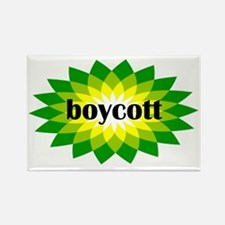 2-bp boycott 4 light Rectangle Magnet