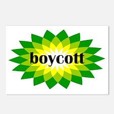 2-bp boycott 4 light Postcards (Package of 8)