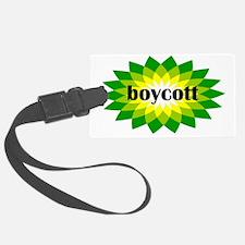 2-bp boycott 4 light Luggage Tag