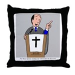 Church Coffee Throw Pillow