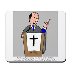 Church Coffee Mousepad