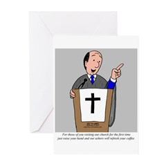 Church Coffee Greeting Cards (Pk of 10)
