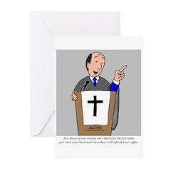 Church Coffee Greeting Cards (Pk of 20)