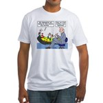 Clown Ministry Fitted T-Shirt