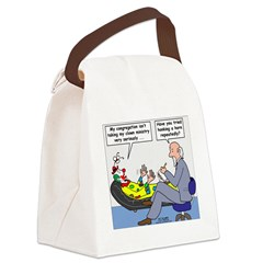 Clown Ministry Canvas Lunch Bag