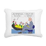 Clown Ministry Rectangular Canvas Pillow