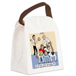Team Building Canvas Lunch Bag