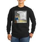Sermon Telestrator Long Sleeve Dark T-Shirt