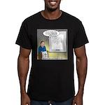 Sermon Telestrator Men's Fitted T-Shirt (dark)