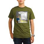 Sermon Telestrator Organic Men's T-Shirt (dark)