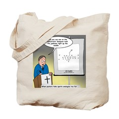 Sermon Telestrator Tote Bag