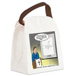 Sermon Telestrator Canvas Lunch Bag