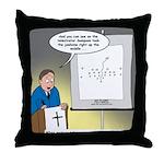 Sermon Telestrator Throw Pillow