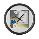 Sermon Telestrator Large Wall Clock