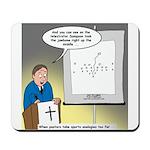 Sermon Telestrator Mousepad