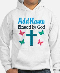 BLESSED BY GOD Hoodie