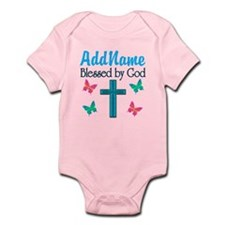 BLESSED BY GOD Onesie