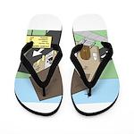 Church Drive-Thru Flip Flops