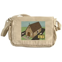 Church Drive-Thru Messenger Bag