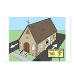 Church Drive-Thru Postcards (Package of 8)