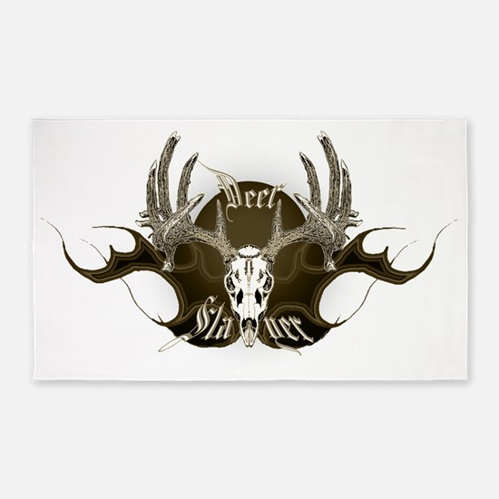 Deer slayer 3'x5' Area Rug