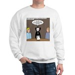 Dracula on Search Committee Sweatshirt