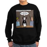 Dracula on Search Committee Sweatshirt (dark)