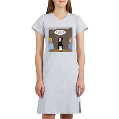 Dracula on Search Committee Women's Nightshirt