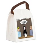 Dracula on Search Committee Canvas Lunch Bag