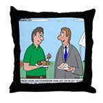 Customer Appreciation Banquet Throw Pillow