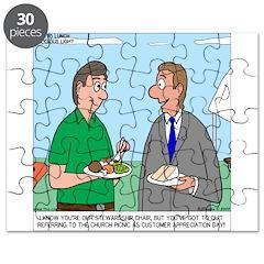 Customer Appreciation Banquet Puzzle
