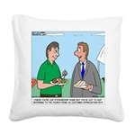 Customer Appreciation Banquet Square Canvas Pillow