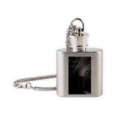 center stage Flask Necklace