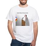 Sound System Delay White T-Shirt