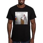 Sound System Delay Men's Fitted T-Shirt (dark)