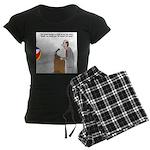 Sound System Delay Women's Dark Pajamas