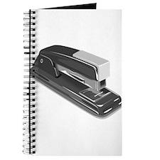 Black Office Stapler Journal