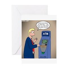 Church ATM Greeting Card