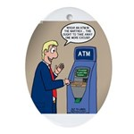 Church ATM Ornament (Oval)