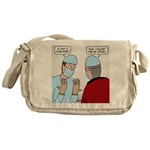 Choir Robe Scrubs Messenger Bag
