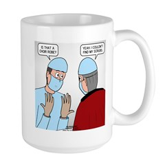 Choir Robe Scrubs Mug