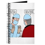 Choir Robe Scrubs Journal