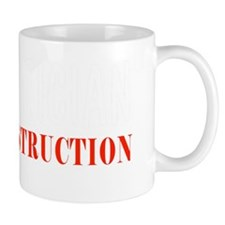 Mathematician under condruction Mug
